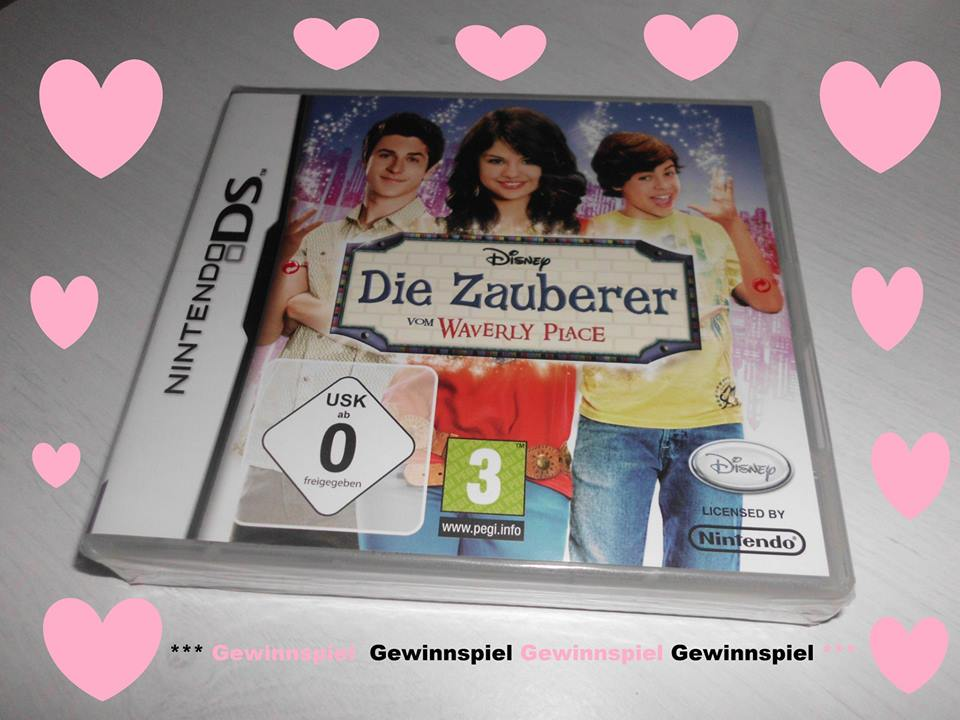 1 x nintendo ds spiel die zauberer vom waverly place gewinnspiel wahnsinn. Black Bedroom Furniture Sets. Home Design Ideas