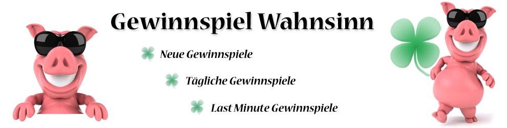 Gewinnspiel Wahnsinn header image